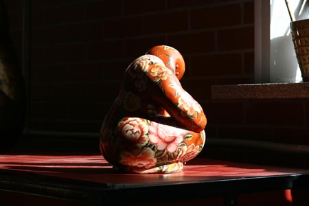 图文:关玉良艺术作品欣赏 瓷娃作品一