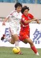 图文:[亚青赛]中国1-0韩国 刘树坤卡位