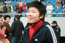 图文:[亚青赛]中国1-0韩国 马晓旭灿烂笑容