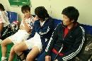 图文:[亚青赛]中国1-0韩国 马晓旭聆听训话