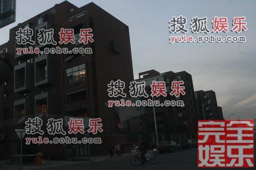 马伊俐在望京的豪宅