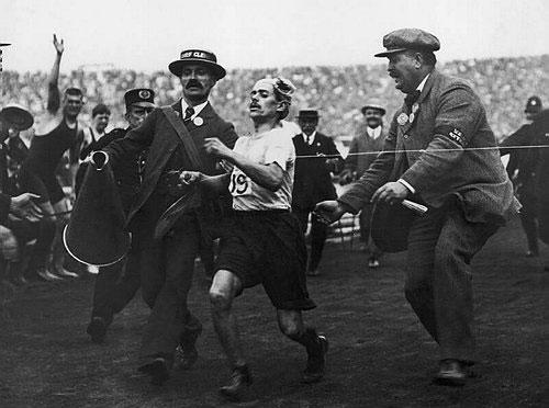 图文:百年奥运回顾图片 1908伦敦奥运会瞬间