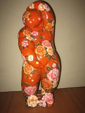 图文:关玉良艺术作品欣赏 朴实国娃