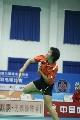 图文:六城会羽毛球团体赛决赛 南京队卢兰进攻