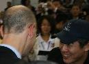 图文:[中国赛一]骑士VS魔术 李连杰和NBA官员