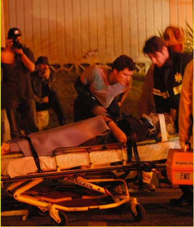 车祸现场回顾:奥兰多女友人受伤