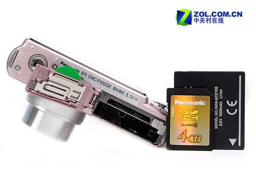 3英寸屏光学防抖 松下广角卡片FX55评测