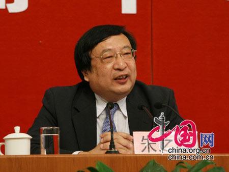 国家发展改革委员会副主任朱之鑫