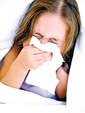 感冒是儿童的常见病。