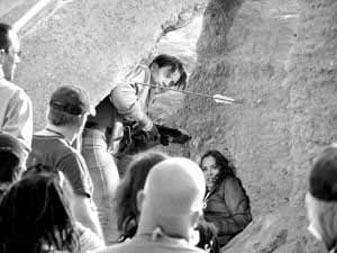 《木乃伊3》拍摄现场。