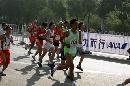 图文:07北京马拉松开跑 运动员比赛意气风发