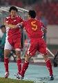 图文:[资格赛]国足7-0缅甸 大头祝贺刘健