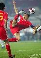 图文:[资格赛]国足7-0缅甸 大头精彩扫射