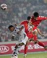 图文:[资格赛]国足7-0缅甸 泰山压顶