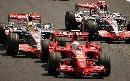 图文:[F1]巴西大奖赛正赛 莱科宁在比赛中
