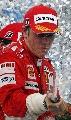 图文:[F1]巴西大奖赛正赛 莱科宁获胜后庆祝