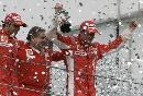 图文:[F1]巴西大奖赛正赛 法拉利是胜利者