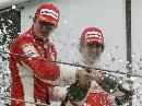 图文:[F1]巴西大奖赛正赛 这一刻忘记恩怨