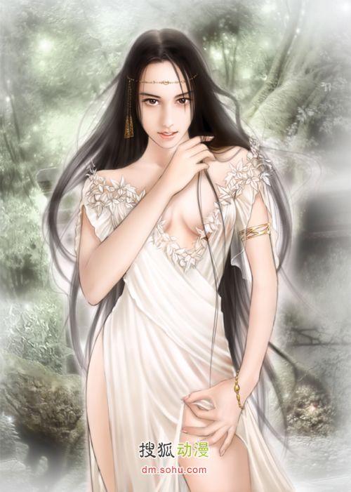《睡着的武神》中的各色美女