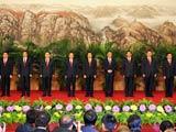 新一届中央政治局常委集体亮相