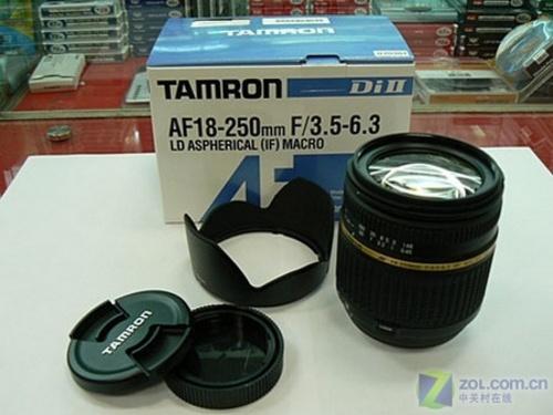 超大变焦比 腾龙18-250mm镜头降价200元
