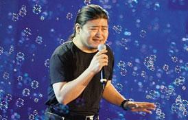 刘欢曾经代表大陆原创流行歌曲的顶峰