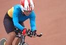 图文:城运会场地自行车赛况 王翠追逐赛夺银牌