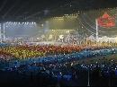 图文:六城会开幕式预演 各个城市英雄齐聚武汉