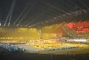 图文:六城会开幕式预演 舞动楚汉悠久青铜文化