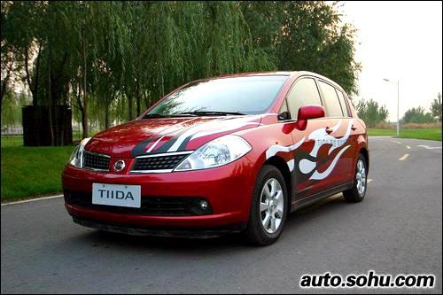 【现款骐达】-改款Tiida下月上市 两厢小改三厢变化大高清图片