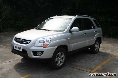 东风悦达起亚首款SUV狮跑15.98万起高清图片