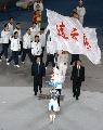 图文:第六届城运会开幕式 连云港代表团进场