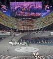 图文:第六届城运会开幕式 澳门代表团进场
