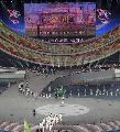 图文:第六届城运会开幕式 银川代表团入场