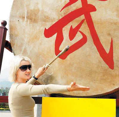 俄罗斯体操皇后成少林寺粉丝北京奥运将任解说-