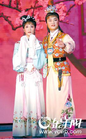赵志刚(右)、方亚芬合演越剧《红楼梦》-戏曲绝活惊震全场 名家名
