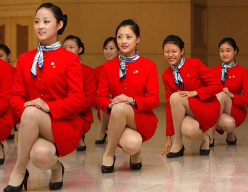 走进北京空姐培训学校