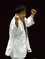 图文:六城会柔道男子90公斤级 阿拉腾满夺第一