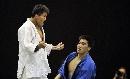 图文:六城会柔道男子90公斤级 对手心服口服