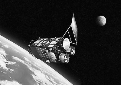 """日本绕月探测卫星""""月亮女神"""""""