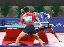 图文:乒乓球男单决赛马龙4-0胜夺冠 双方纠缠