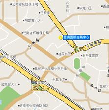 旅交会场馆地图