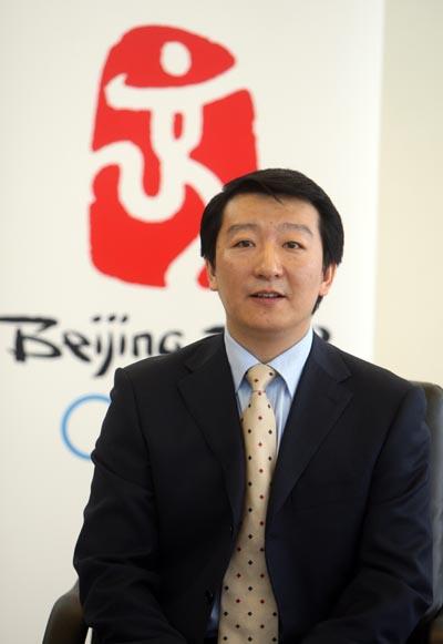 北京奥组委票务中心主任容军