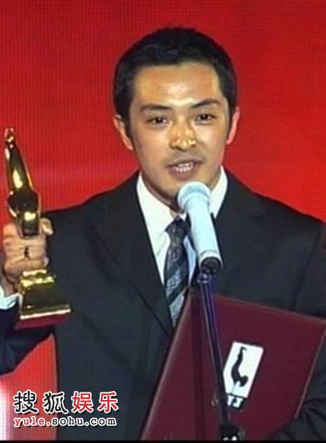 ...电影节重头大奖最佳男主角颁出, 富大龙凭借《天狗》中的精彩...