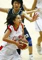 图文:城运会女篮决赛南京夺冠 广州队张瑞进攻