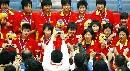 图文:城运会女篮决赛南京夺冠 冠军阵容全家福