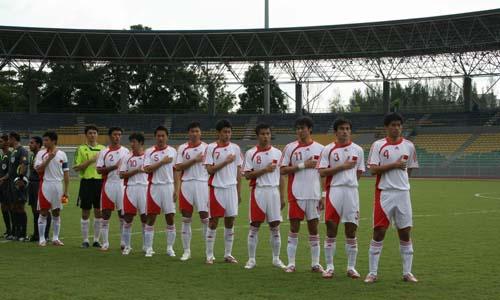 图文:[世界杯]中国4-0缅甸 为国征战