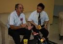 图文:[世界杯]中国4-0缅甸 法罗帕接受采访
