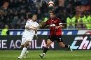 图文:[意甲]米兰0-1罗马 马尔蒂尼廉颇老矣