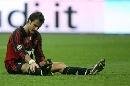 图文:[意甲]米兰0-1罗马 吉拉好失落
